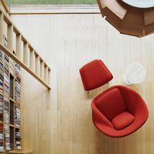 Womb chair, kresielko do kniznice :-)